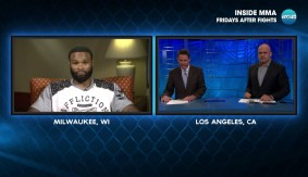 "Tyron Woodley on Title Shot vs. Robbie Lawler at UFC 201 & Hiatus – ""I Won't Apologize For Being in the Position I Am"""