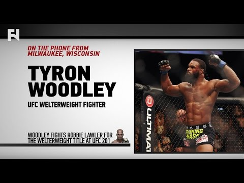 Tyron Woodley Talks Robbie Lawler at UFC 201, PED Testing & Acting Career – Full Interview with John Pollock