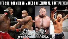 UFC 200: Daniel Cormier vs. Jon Jones & Brock Lesnar vs. Mark Hunt Preview on 5 Rounds