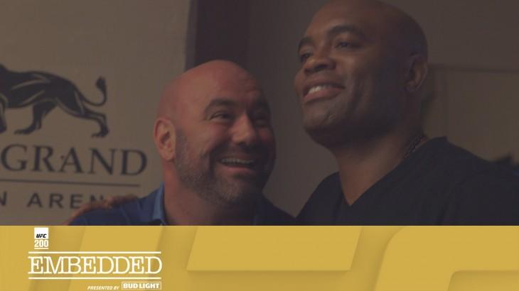UFC 200 Embedded: Vlog Series Episode 6 – Daniel Cormier vs. Anderson Silva