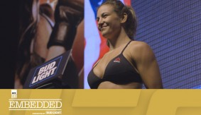 UFC 200 Embedded: Vlog Series Episode 7 – Close Calls at the Scale