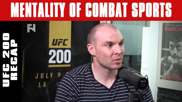 UFC 200: Tate's Hypnotherapy, Aldo's Misdirection, Jones Cancellation on Mentality of Combat Sports