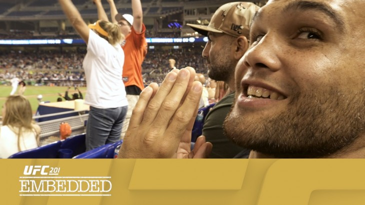 UFC 201 Embedded: Vlog Series Episode 1 – Who Let The Dogs Out?