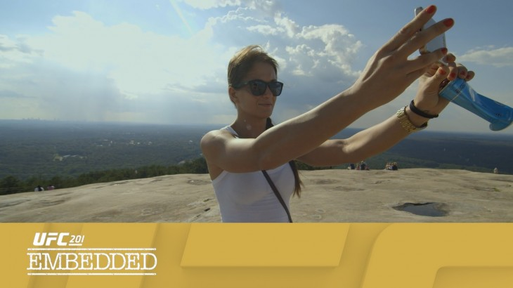 UFC 201 Embedded: Vlog Series Episode 2 – Happy Wife, Happy Life