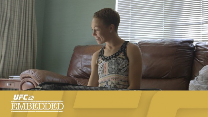 UFC 201 Embedded: Vlog Series Episode 3 – Welcome to Atlanta
