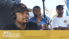 UFC 201 Embedded: Vlog Series Episode 4 – Tyron Woodley Goes Hollywood