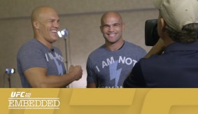 UFC 201 Embedded: Vlog Series Episode 5 – Tyron Woodley vs. Coy Wire?