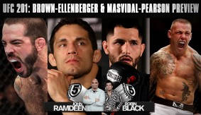 UFC 201: Matt Brown vs. Jake Ellenberger & Jorge Masvidal vs. Ross Pearson Preview on 5 Rounds