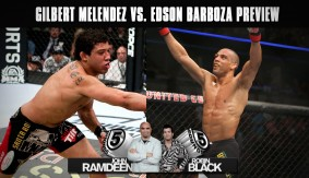 UFC Fight Night Chicago: Edson Barboza vs. Gilbert Melendez Preview on 5 Rounds