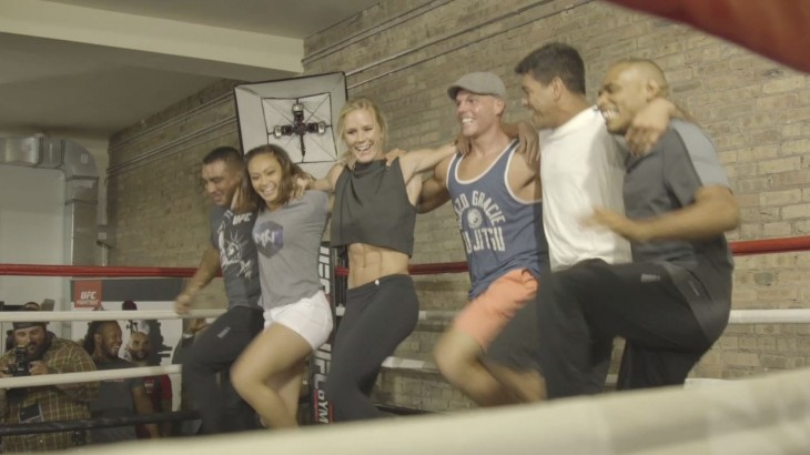 UFC Fight Night Chicago: Open Workout Highlights – Do the Can-Can with Holly Holm & Michelle Waterson