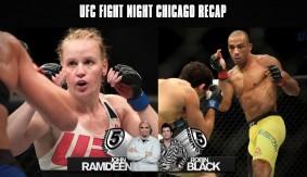 UFC Fight Night Chicago Recap: Shevchenko Beats Holm, Barboza Chops Down Melendez & More on 5 Rounds