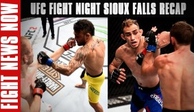 UFC Fight Night Sioux Falls Recap: Lineker By KO, Ferguson Wins a Wild One on Fight News Now