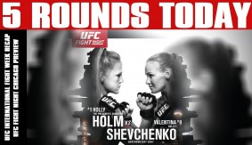 UFC International Fight Week Recap: Grasping Trends, UFC Fight Night Chicago Preview on 5 Rounds Today