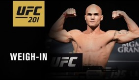 Video Replay – UFC 201: Official Weigh-in