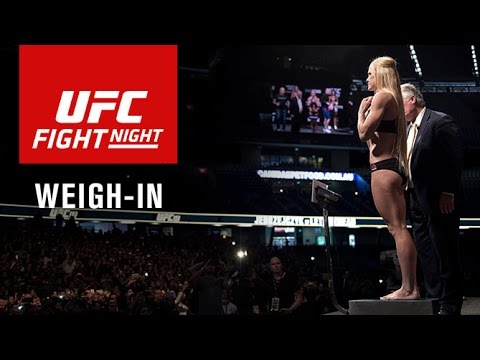 Video Replay – UFC Fight Night Chicago: Official Weigh-in