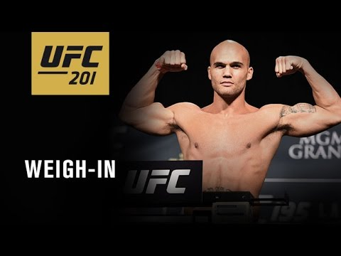 Watch LIVE Fri. at 4 p.m. ET – UFC 201: Official Weigh-in