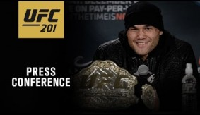 Watch LIVE – UFC 201: Post-Fight Press Conference