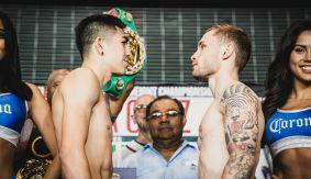 Showtime Boxing: Leo Santa Cruz vs. Carl Frampton Weigh-in Results & Photos