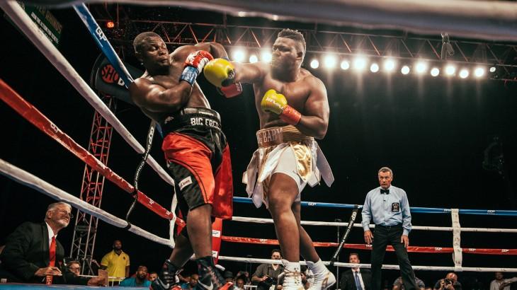 Full Report & Photos – ShoBox: Jarrell Miller Stops Fred Kassi, Mason Menard Sinks Bahodir Mamadjonov