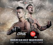 ONE: Unbreakable Warriors LIVE Friday at 8:30 a.m. ET on Fight Network
