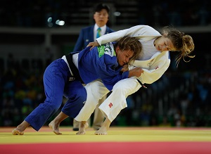 Judo Canada – Catherine Beauchemin-Pinard Eliminated Early at Rio 2016