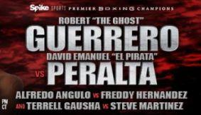 PBC on Spike: Robert Guerrero vs. David Peralta Final Press Conference Quotes & Photos
