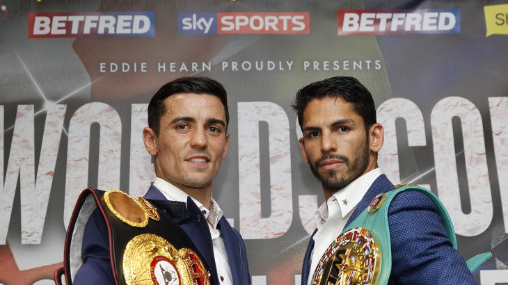 Anthony Crolla vs. Jorge Linares Press Conference Quotes & Photos