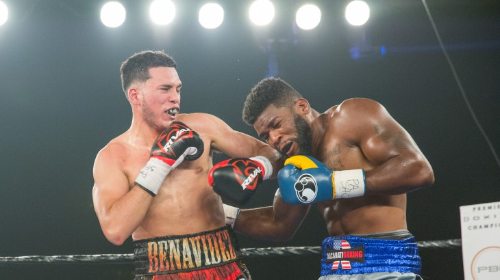 Full Report, Video Highlights & Photos – David Benavidez Stops Denis Douglin at PBC on ESPN