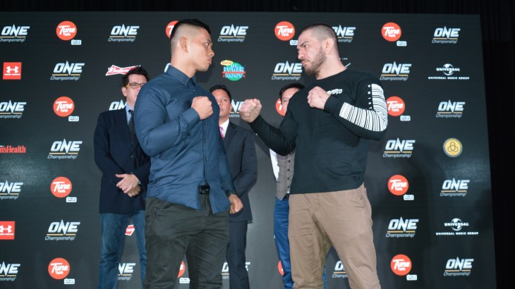 ONE: Unbreakable Warriors: Ev Ting vs. Rob Lisita Press Conference Quotes & Photos