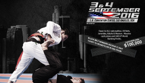 Top Jiu-Jitsu Players Prepare for Abu Dhabi Grand Slam 2016 Tour Stop in Los Angeles
