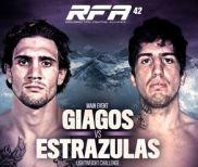 Video Highlights & Results – RFA 42: Christos Giagos Takes Unanimous Decision Over Arthur Estrazulas