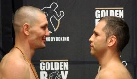 LA Fight Club: Vyacheslav Shabranskyy vs. Oscar Riojas Official Weigh-in Results & Photos