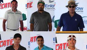 Oscar De La Hoya Hosts 16th Annual Golf Classic w/ Michael Pena, Andy Garcia, Garrett Hedlund, Eddie Sotelo & Rob Riggle