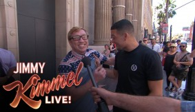 Don't Be Scared, Homies – Nate Diaz Scares Fans Picking Against Him at UFC 202 with Jimmy Kimmel