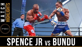 Errol Spence Knocks Out Leonard Bundu in Front of Over 6 Million Viewers at PBC on NBC