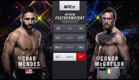 Full Fight – Conor McGregor vs. Chad Mendes from UFC 189