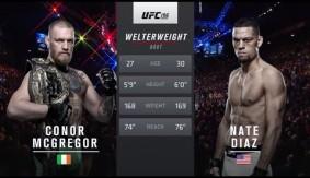 Full Fight – Conor McGregor vs. Nate Diaz from UFC 196