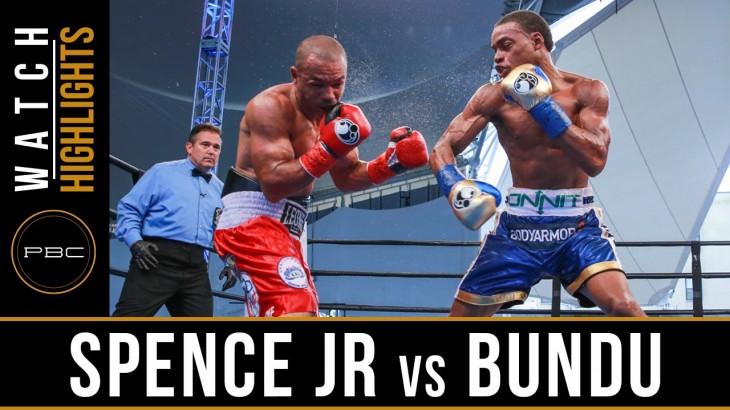 Full Report, Video Highlights & Photos – Errol Spence Knocks Out Leonard Bundu at PBC on NBC