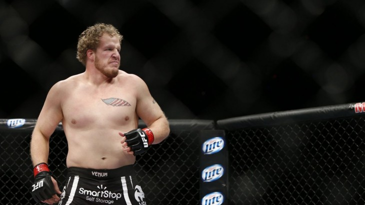 World Series of Fighting Signs Jared Rosholt to Exclusive Multi-Fight Agreement
