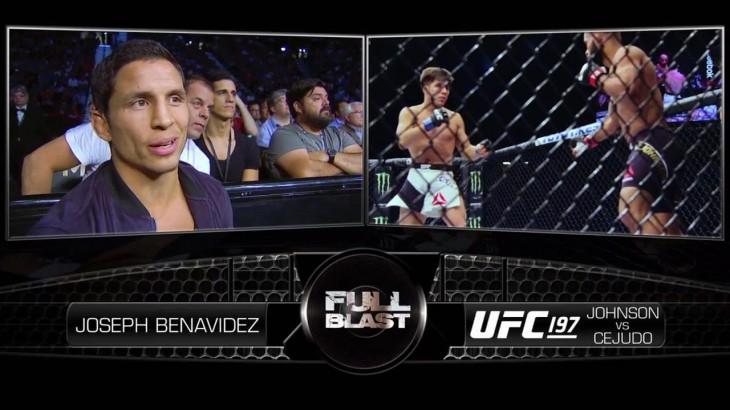 Joseph Benavidez Mic'd Up for Demetrious Johnson vs. Henry Cejudo at UFC 197