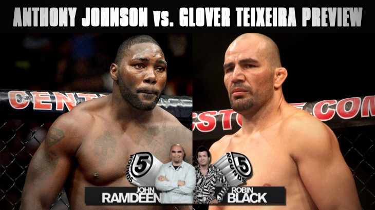 "UFC 202: Anthony ""Rumble"" Johnson vs. Glover Teixeira Preview on 5 Rounds"