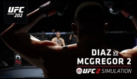 UFC 202: Diaz vs. McGregor 2 – EA SPORTS UFC 2 Simulation