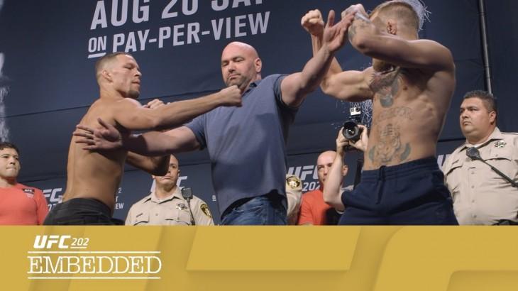 UFC 202 Embedded: Vlog Series Episode 6 – Weigh-ins