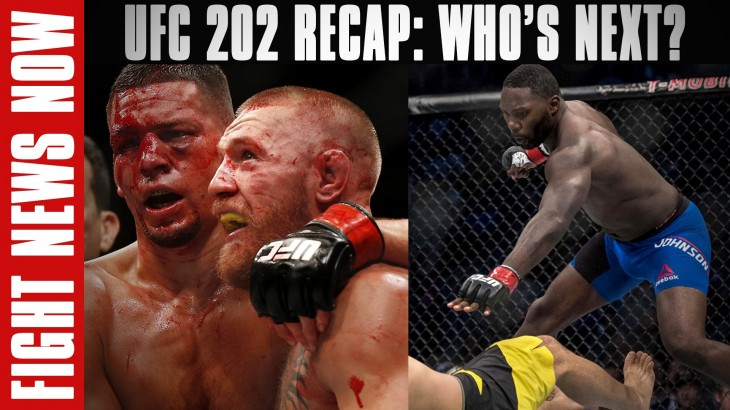 UFC 202: McGregor vs. Diaz 2 Recap on Fight News Now