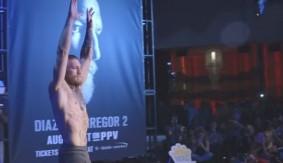 UFC 202: Open Workout Highlights