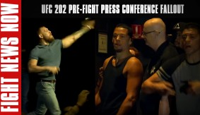 UFC 202 Pre-Fight Press Conference Fallout; Publicity Gained on Fight News Now