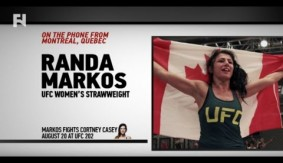 "UFC 202: Randa Markos on Cortney Casey – ""You Can Never Underestimate Who's In Our Weight Class"""