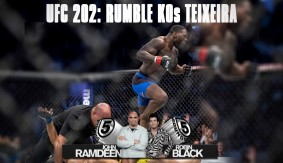 "UFC 202 Recap: Anthony ""Rumble"" Johnson Destroys Glover Teixeira in 13 Seconds on 5 Rounds"