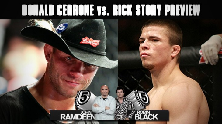 UFC 202: Rick Story vs. Donald Cerrone Preview on 5 Rounds