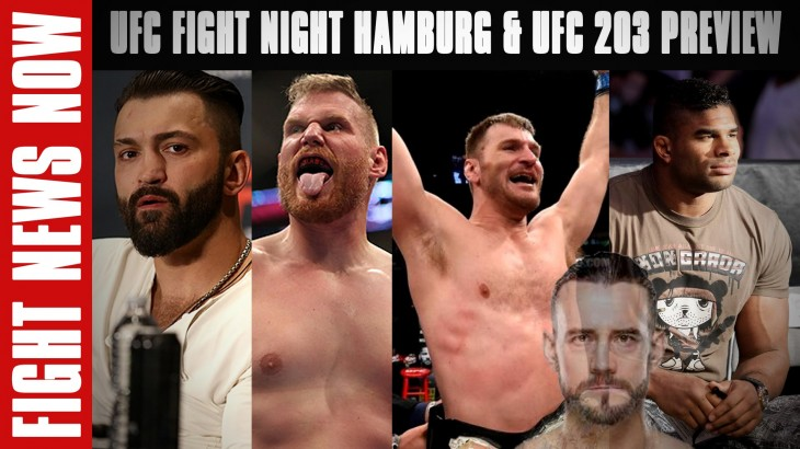 UFC Fight Night Hamburg: Arlovski vs. Barnett LIVE on FN & UFC 203: Miocic vs. Overeem Preview on Fight News Now